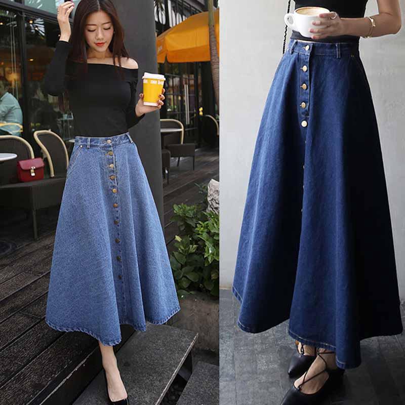 Chân váy lưng cao thiết kế hợp thời trang cho phái nữ