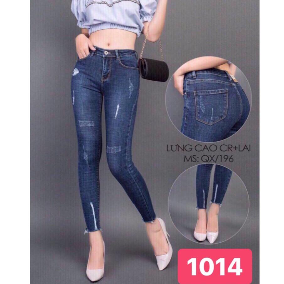 Quần jean nữ mẫu mới nhất giá rẻ nhất số 1014
