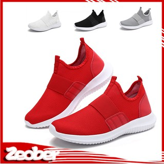 Hình ảnh NEW Men's Ultra-light Sole Footwear Running Shoes Slip-on Breathable Sneakers Sport Shoes!Ready Stock YZ yz RẺ QUÁ