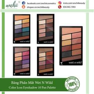 Bảng Phấn Mắt Wet n Wild Color Icon Eyeshadow 10 Pan Palette