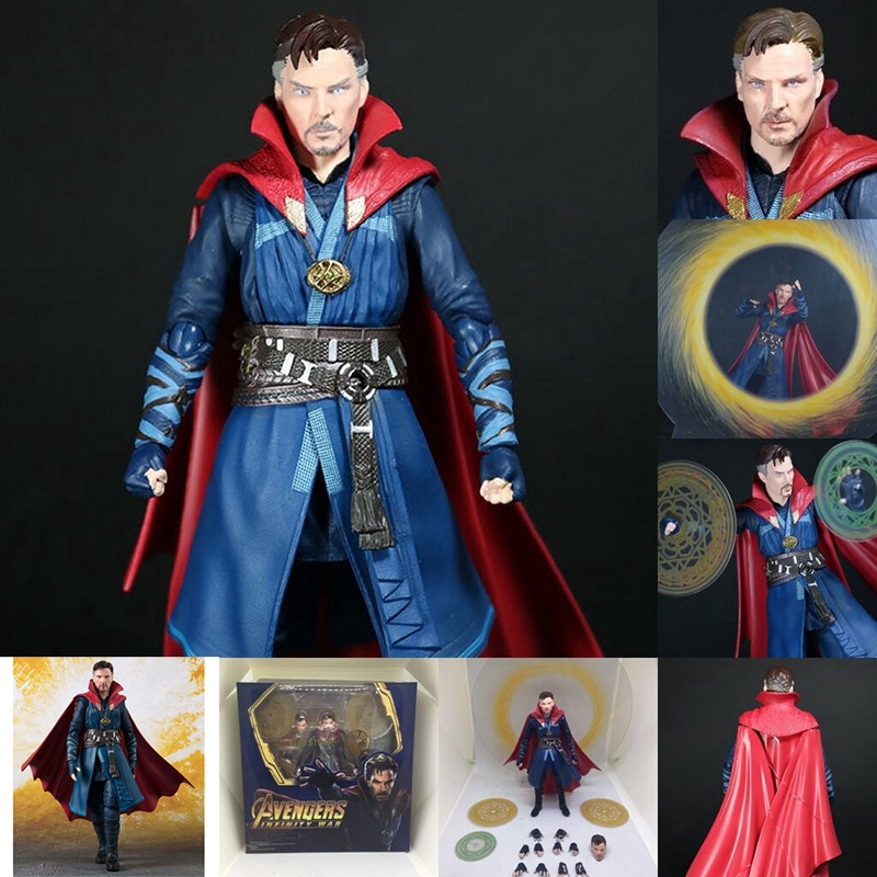 Figuarts Movie Avengers Infinity 3 War Doctor Strange PVC Action Figure Collection Model Toy Doll