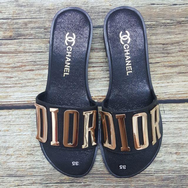 Dép Dior đế 2 phân