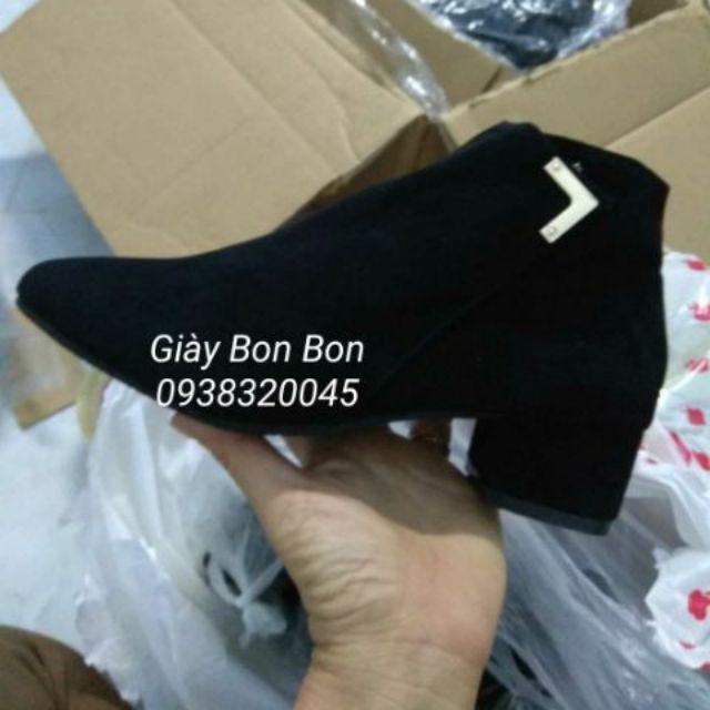SALES SỐC XẢ HÀNG- Giày bốt Quảng Châu đế thấp thời trang(còn 36)