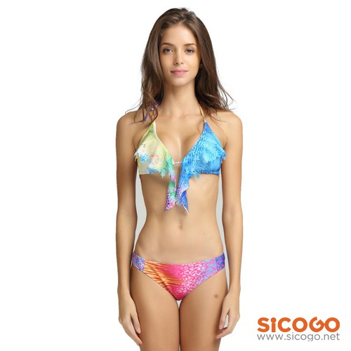 Bikini bra thổ cẩm Sicogo