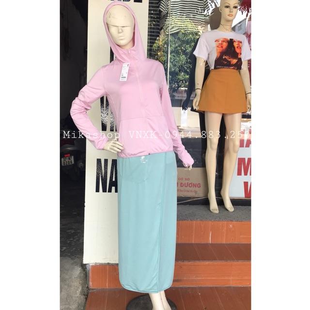 Combo áo + váy chống nắng làm mát xuất Nhật siu đẹp siu mát