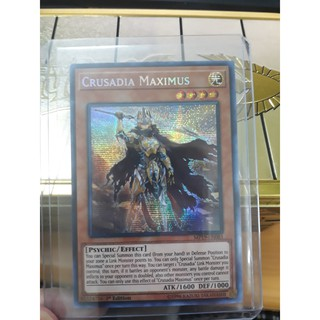 Thẻ bài Yugioh - Crusadia Maximus - MP19-EN081- Prismatic Secret Rare
