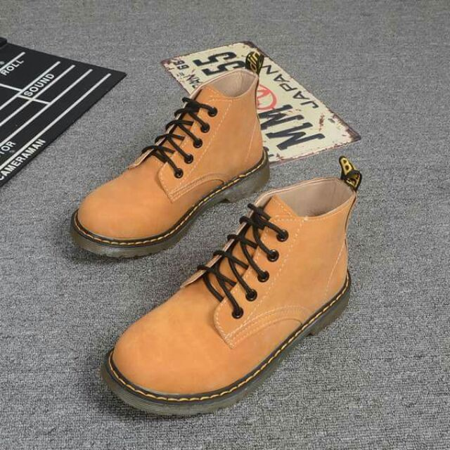 [MF]Giày boots nữ cổ thấp style UK (kèm hình thật)[7-10 ngày]