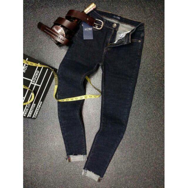 Quần jeans lật lai wash rách (Hàng nhập loại 1)