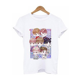 Áo phông áo thun BTS chibi