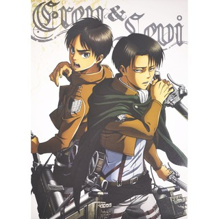 Bộ 8 tấm poster Anime - Attack On Titan [AAM] [PGN23]