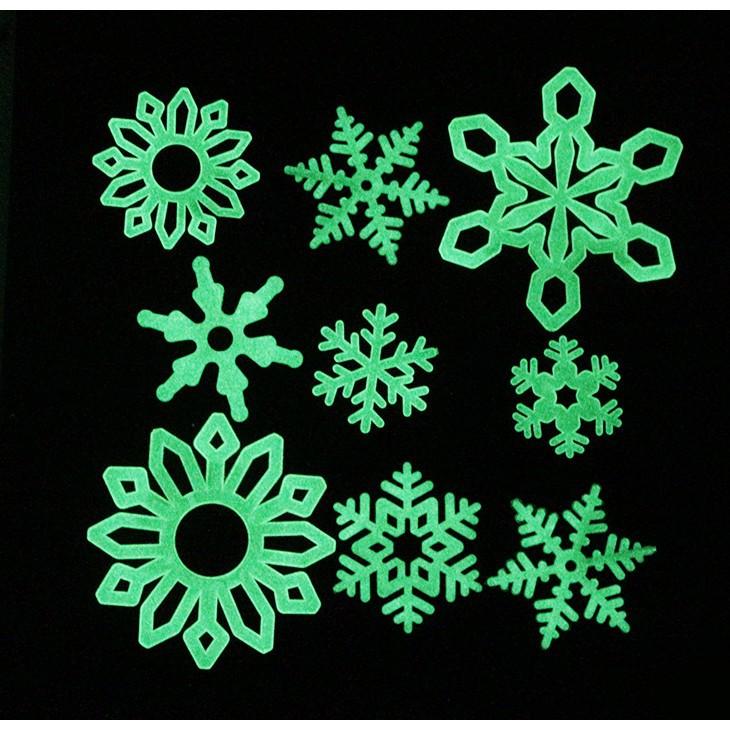 combo 11 Bông tuyết dạ quang