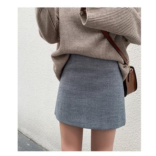 Chân váy dạ ngắn ( ảnh thật ở cuối)