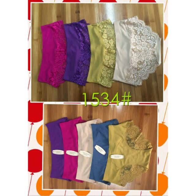 Set 10 quần lót thông hơi pha ren vic hàng dày đẹp loại 1