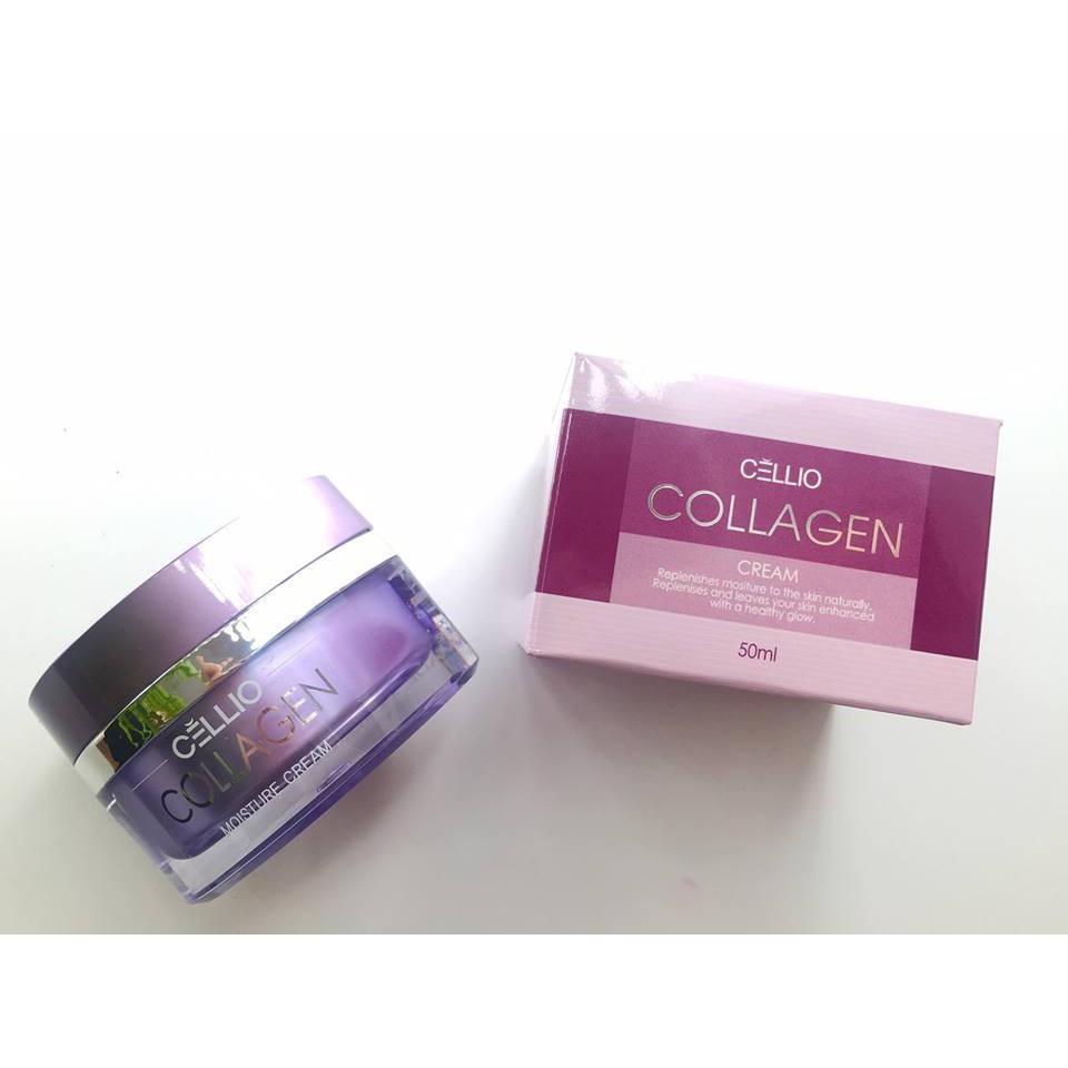 [SP Chính Hãng] Kem dưỡng trắng giữ ẩm Collagen Cellio