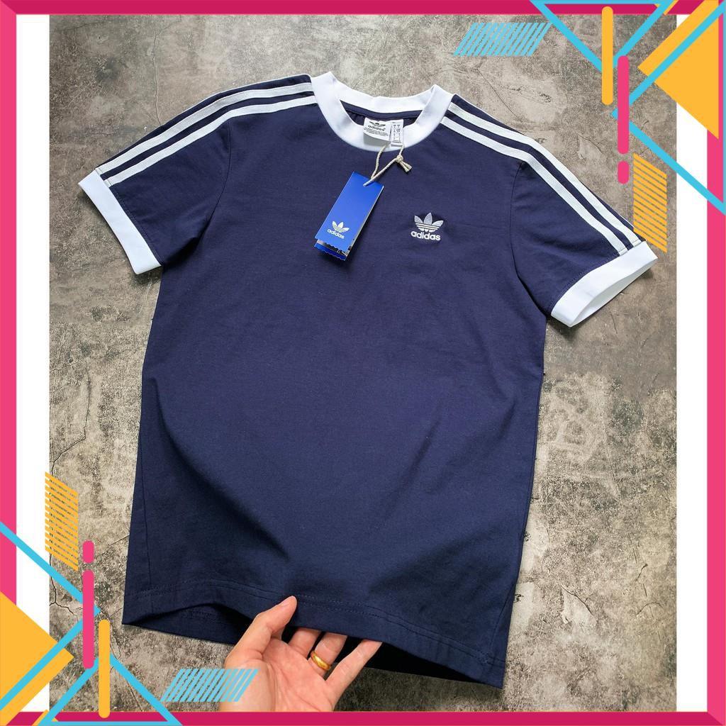 [CAMBODIA XUẤT] áo phông Adidas, áo thun Adidas nữ 502 3-Stripes Tee full tag code