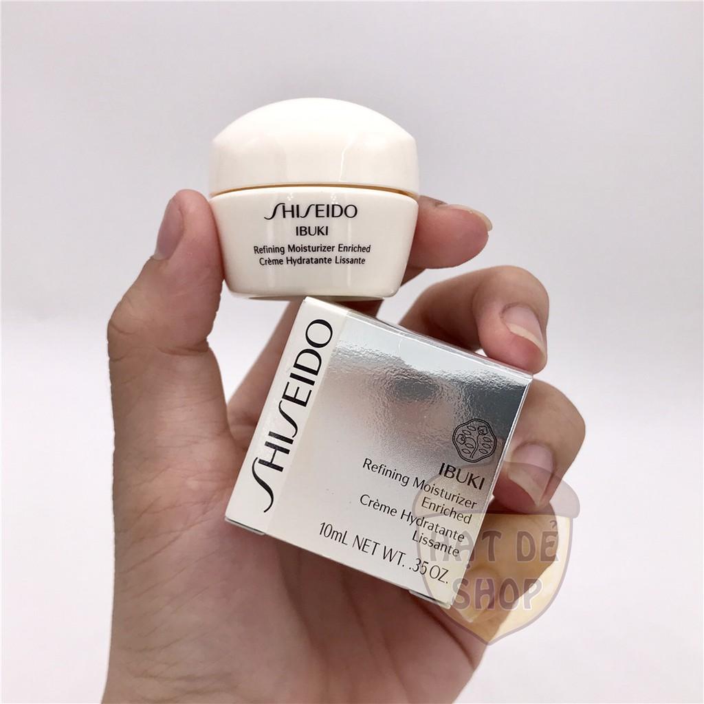 Shiseido Kem Dưỡng Cấp Ẩm Ibuki Refining Moisturizer 10ml-Hàng Chính hãng