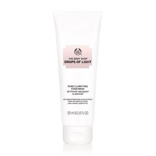 Sữa rửa mặt tạo bọt The Body Shop Drops Of Light™ Pure Clarifying Foam Wash 125ml - 55052