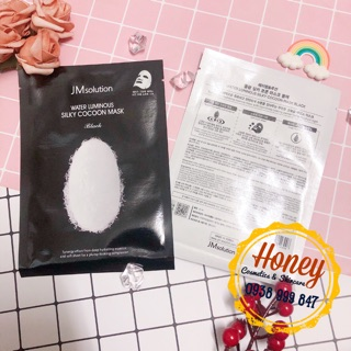🌟💦MẶT NẠ TƠ TẰM JM SOLUTION WATER LUMINOUS SILKY COCOON MASK🍒
