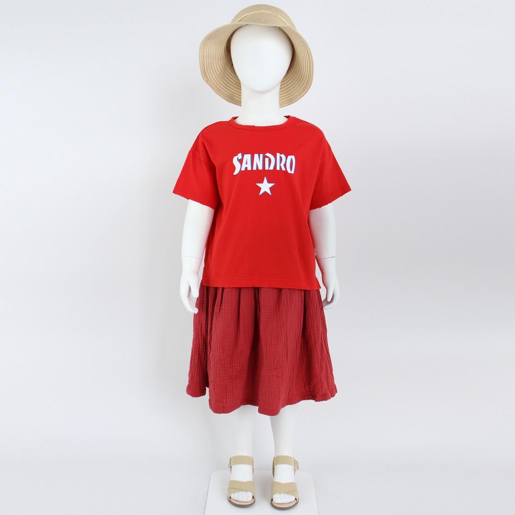 Set chân váy phom dài bé gái (Set 427) - Nhập khẩu Hàn Quốc