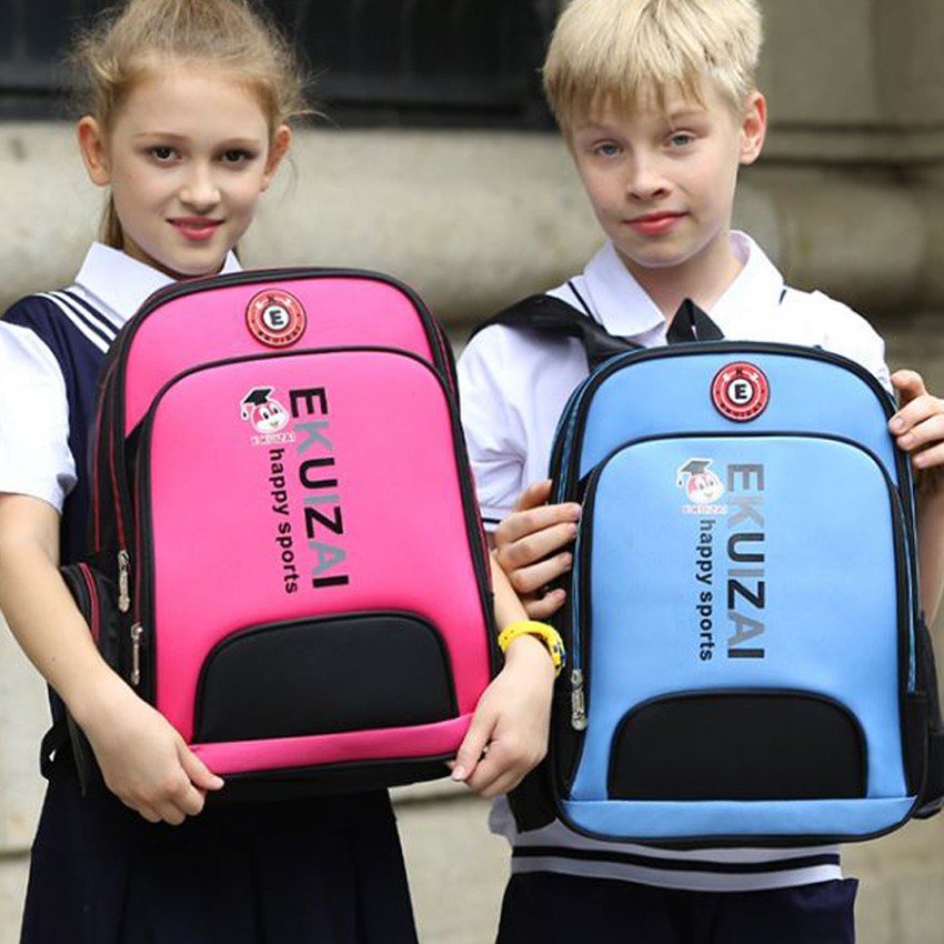 Ba lô thời trang chống gù lưng cho học sinh hàng nhập khẩu EKUIZAI BL4383