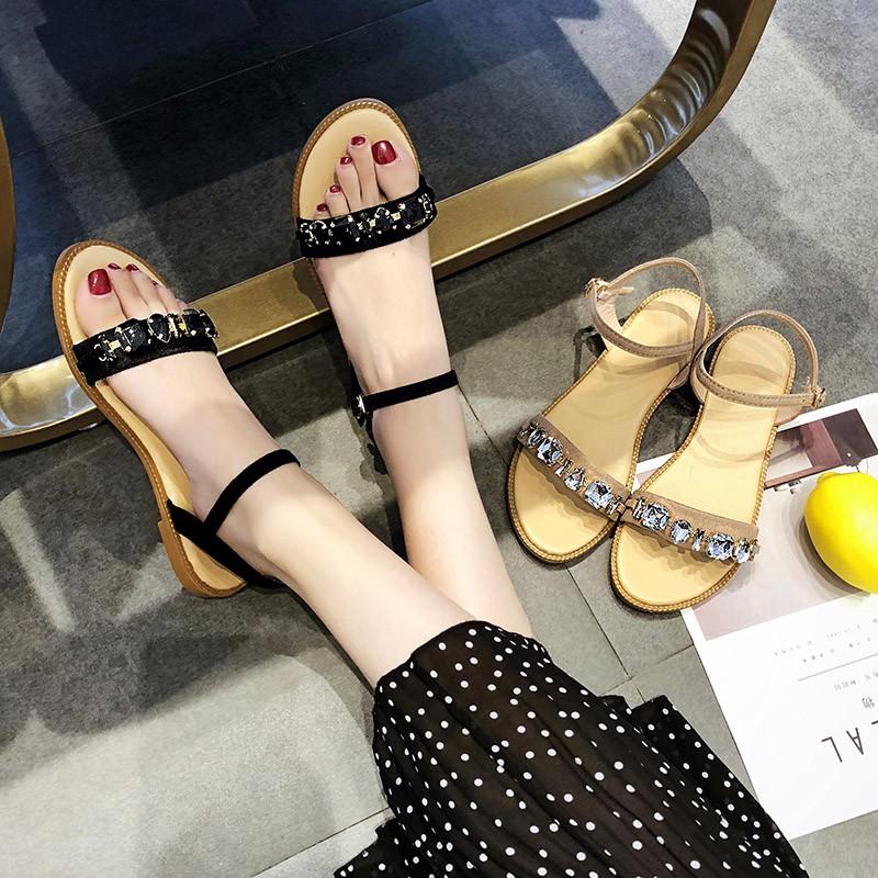 giày sandals nữ thời trang hè xinh xắn
