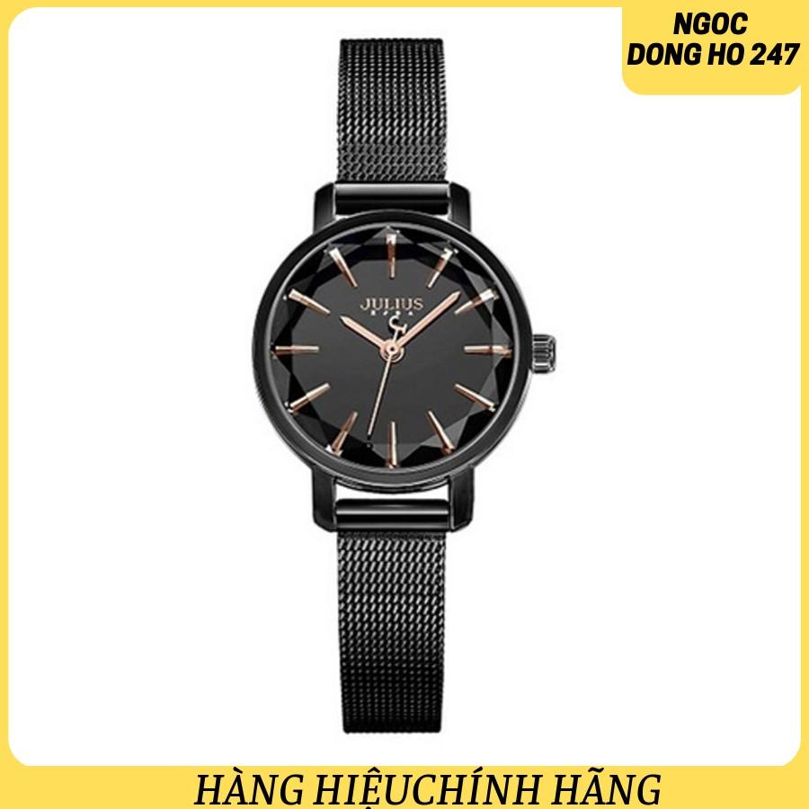 Đồng hồ nữ Hàn Quốc Julius Ja-1063E đen