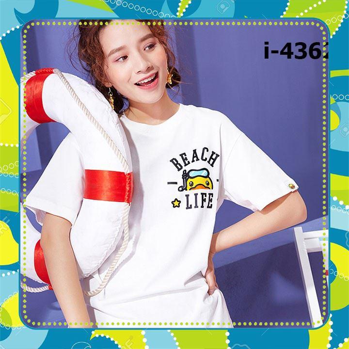 [Sale 50%] I4362 Áo Thun Unisex Giá Hạt Dẻ , áo thun, áo thun trẻ em, áo thun đôi