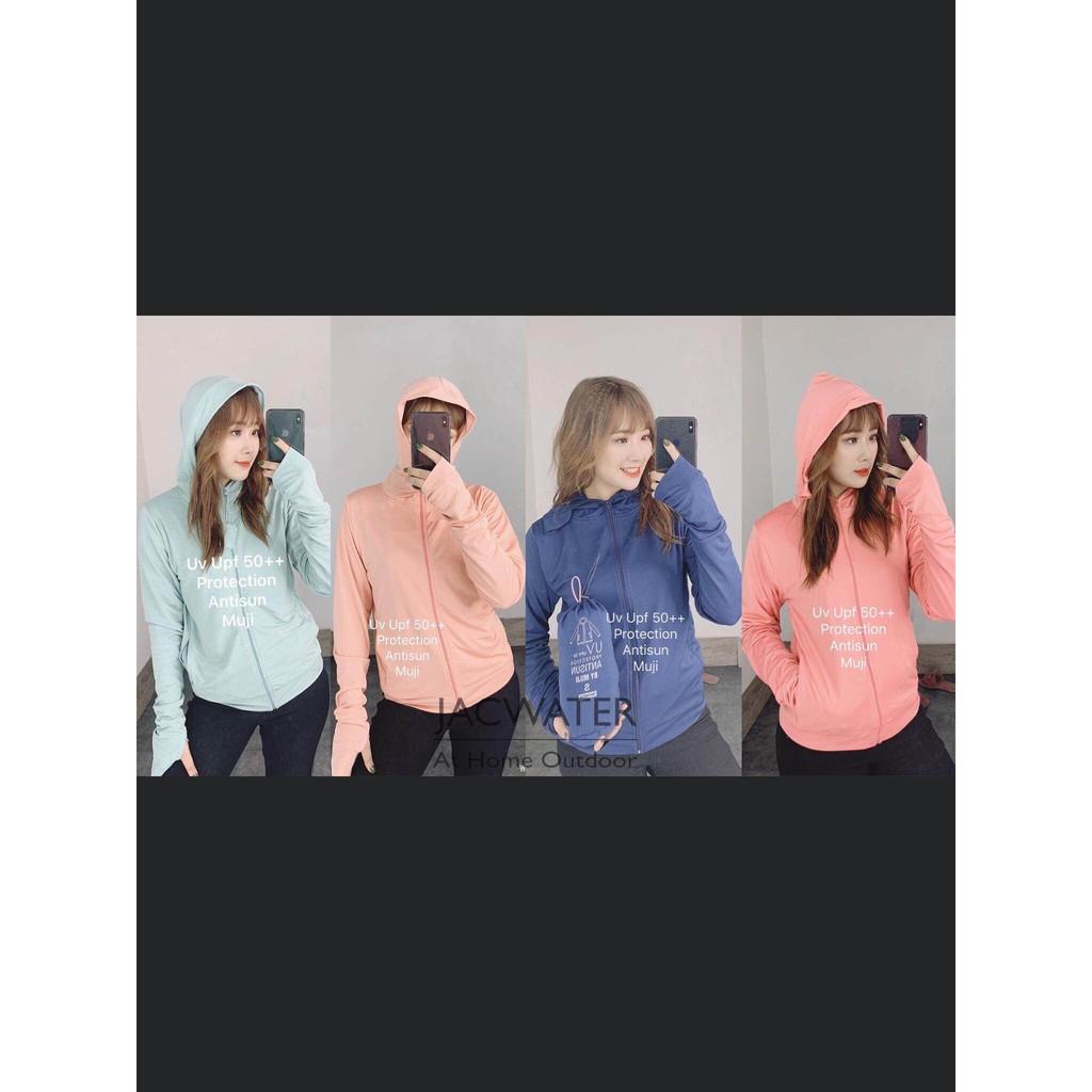 ( Rẻ vô Địch ) Áo khoác nữ, áo khoác chống nắng nữ 3 trong 1 chống nắng che hết mặt xỏ ngón