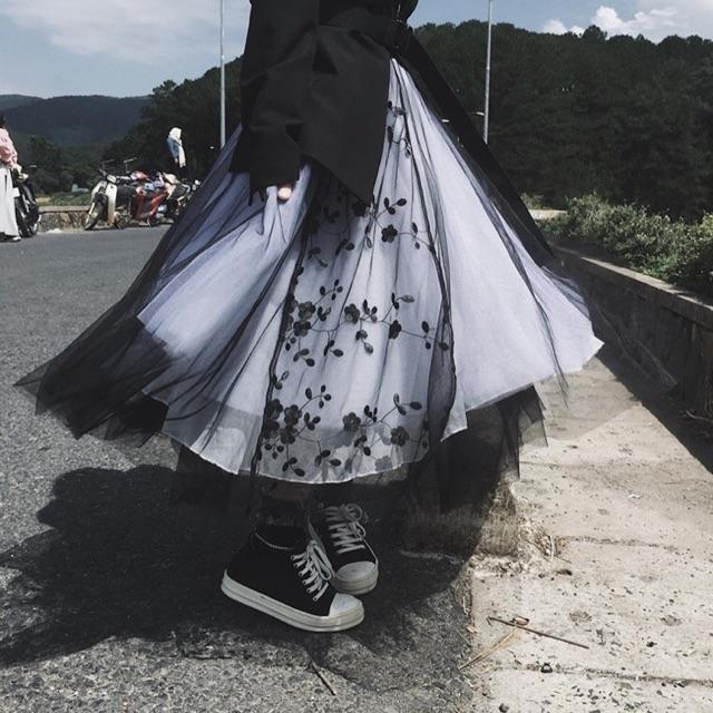 Chân váy công chúa (có ảnh thật)