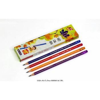 Hộp 12 bút chì gỗ G-star