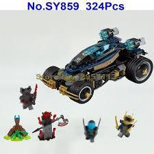 Lắp ráp xếp hình Lego Ninjago sy859: Xe Chiến Đấu Bọc Thép (ảnh thật)