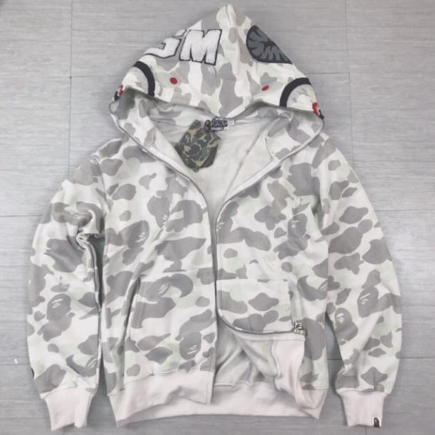 áo khoác bape phát quang - hàng có sẵn - hoodie zip - jacket bape - áo khoác bape phản quang camo . Hàng chuẩn