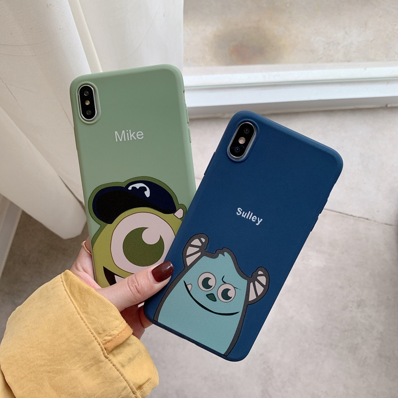 Soft Casing Xiaomi 9 9se 8 8se Cartoon Cute Monster Case Xiao mi Max2 Max3 Mix 2 2s 3 Note3 Play Cover