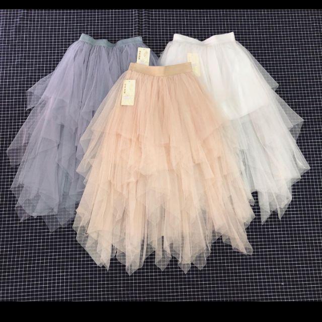 Chân váy xòe công chúa