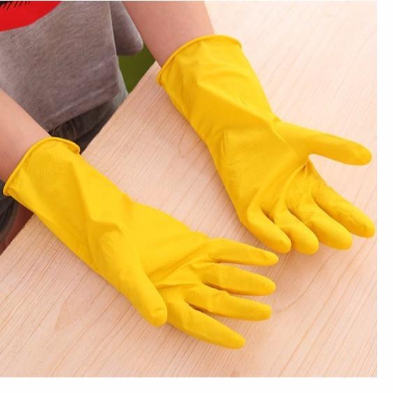 găng tay cao su 1391 rửa bát, vệ sinh cao cấp diệu phan