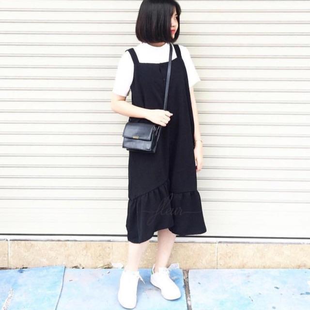 Pass đầm đen Fleur