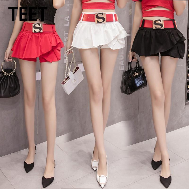 Chân Váy Jean Lưng Cao Thời Trang Mùa Hè Cho Nữ