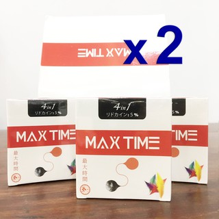 Combo 2 Bao Cao Su Chống Xuất Tinh Sớm 4 in 1 MAX TIME Nhật Bản (Hộp 3 Chiếc)