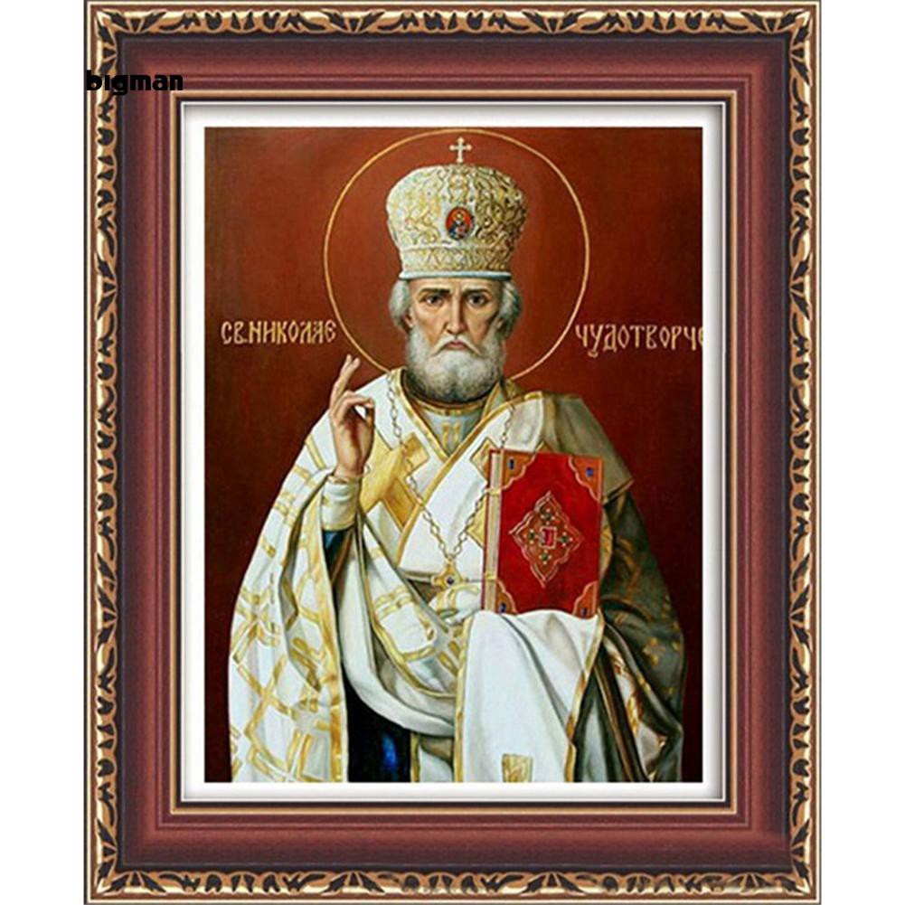Hình ảnh Bigman_5D DIY Diamond Embroidery Painting Figure Decorative Home Office Room Wall