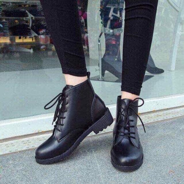 Boot nữ cao cổ đế 4cm