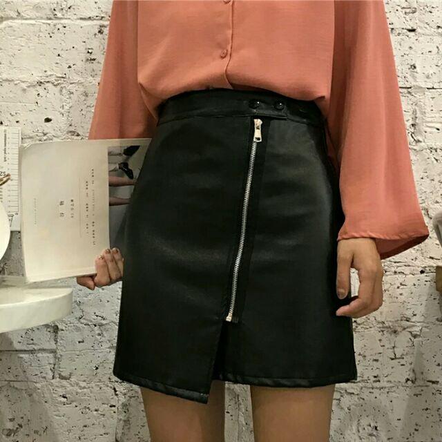 [Order] Chân váy da ulzzang