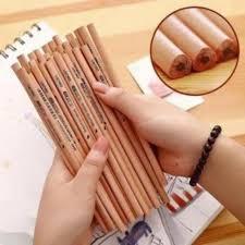 Hộp 50 chiếc Bút chì gỗ cho bé đi học
