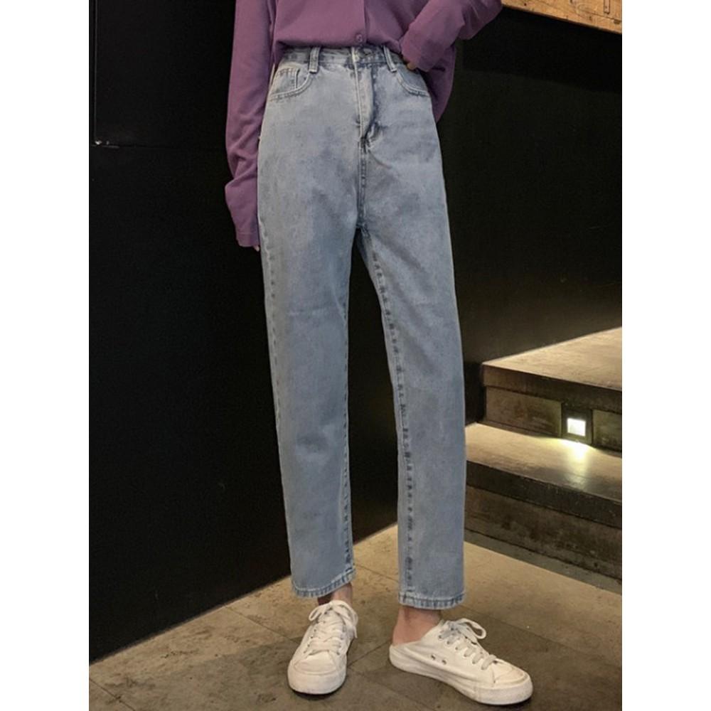 Quần jean ống xuông 3 màu