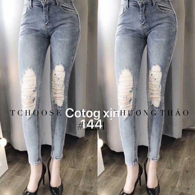 Quần jeans Hot