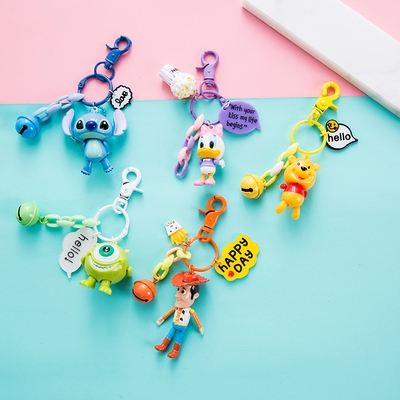 Toy Story 4 Cartoon Keychain Hudi Weini Bear Nữ TúI MặT DâY ChuyềN BúP Bê