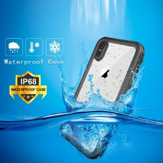 Case For iPhone X / XS XR Xs Max 11 11Pro 11ProMax underwater waterproof mobile phone case transparent back cover mobile phone case