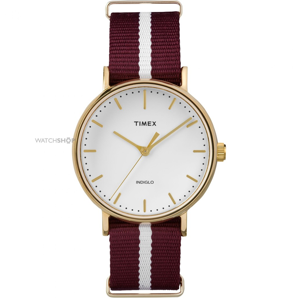 Đồng hồ Unisex Timex Fairfield TW2P98100 Dây vải