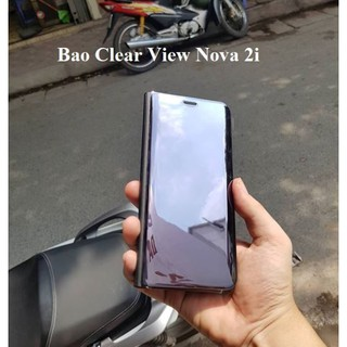 Bao da Clear View Standing Cover Huawei No
