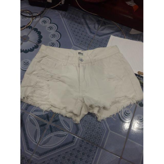 Album quần jean trắng