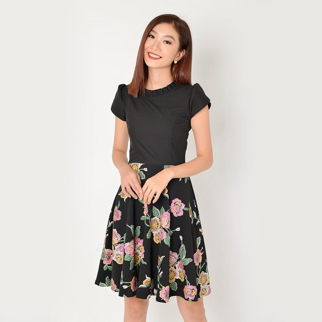 Đầm đẹp - đầm xinh - váy đầm đẹp - đầm thời trang - đầm công sở - váy công sở - D326 (hình thật)